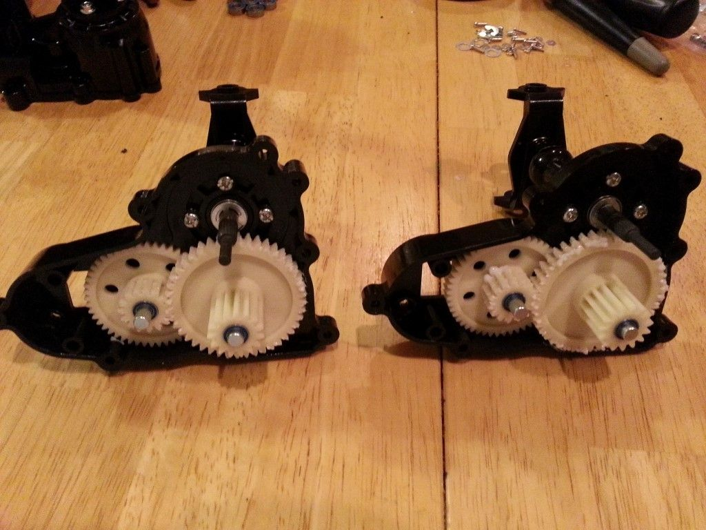 Counter gears attached