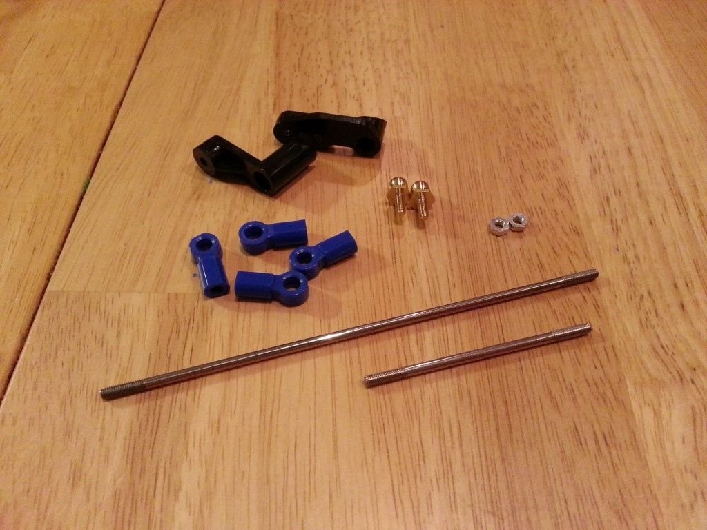 Parts needed for step 22