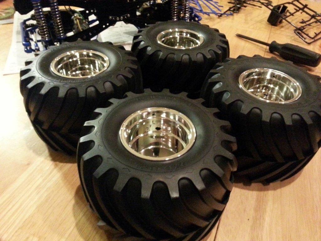 Assembled wheels