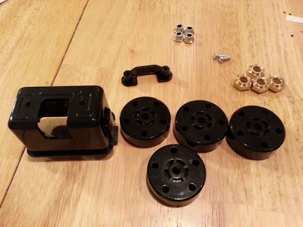 Parts needed for step 33
