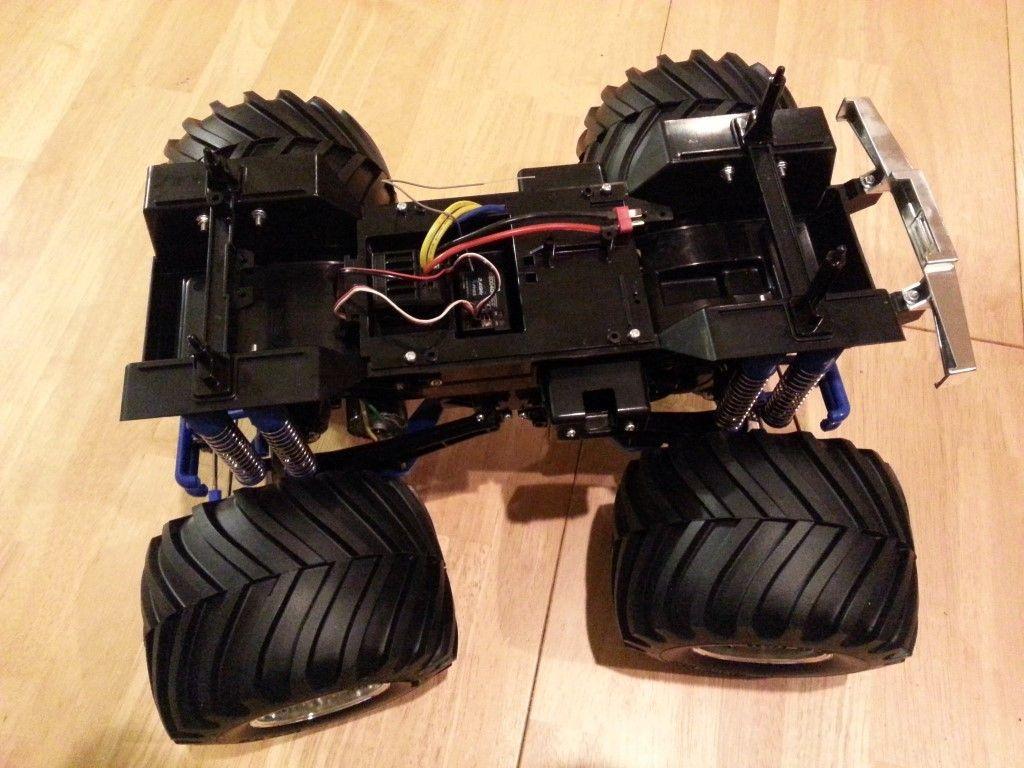 Wheels installed