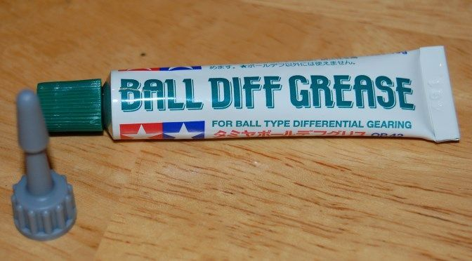 Tamiya Ball Diff Grease