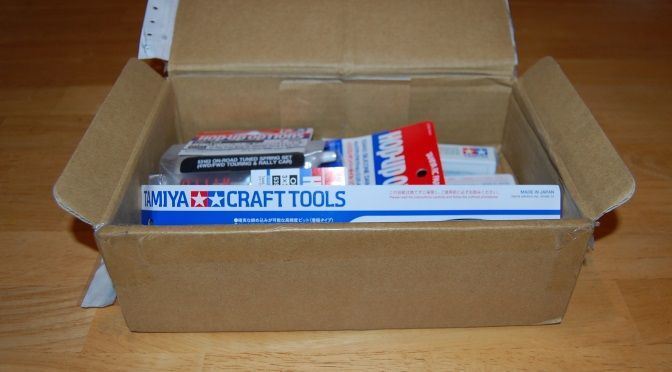 Box of Tamiya goodies!