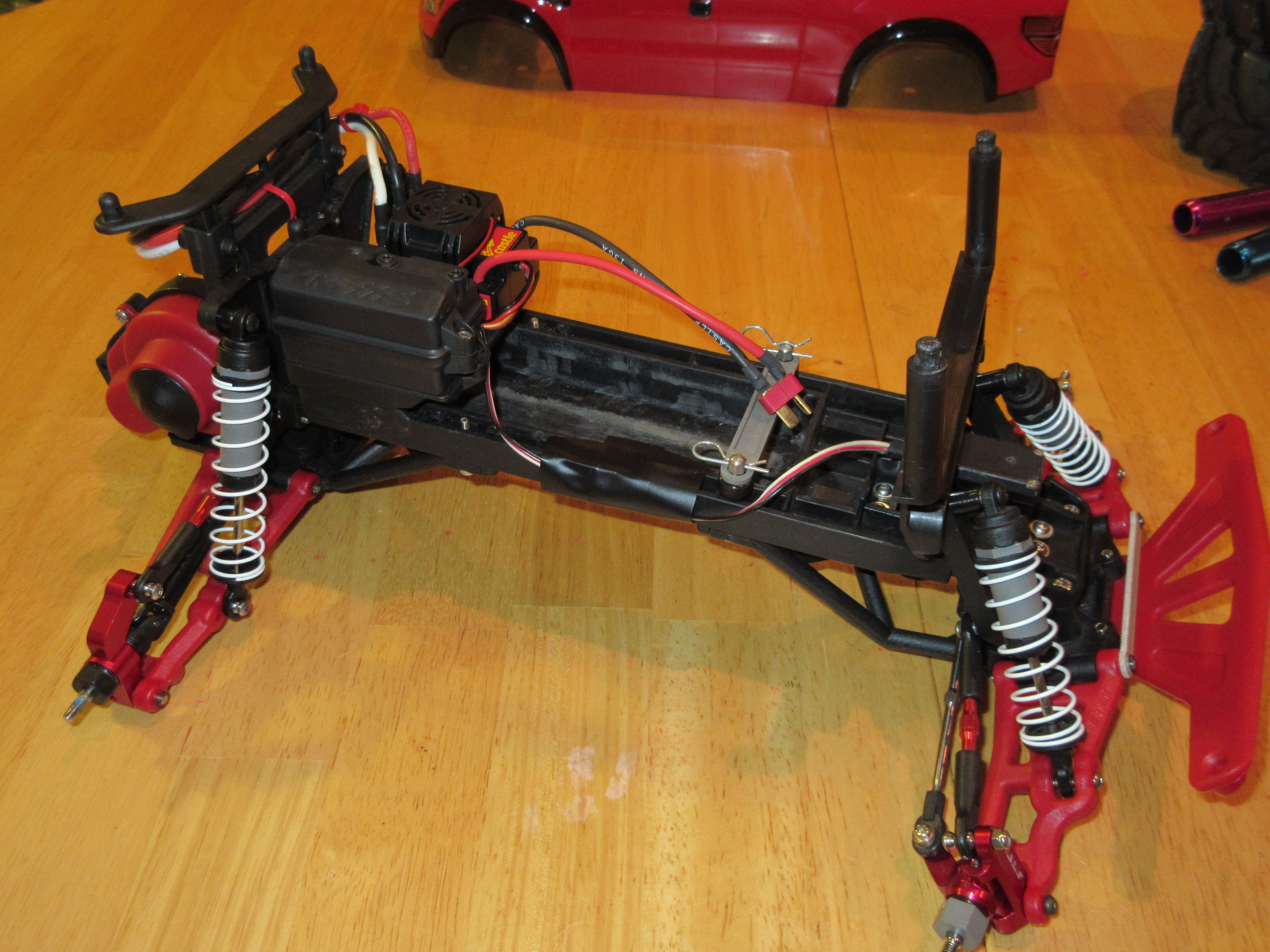 new RPM red parts RPM parts installed