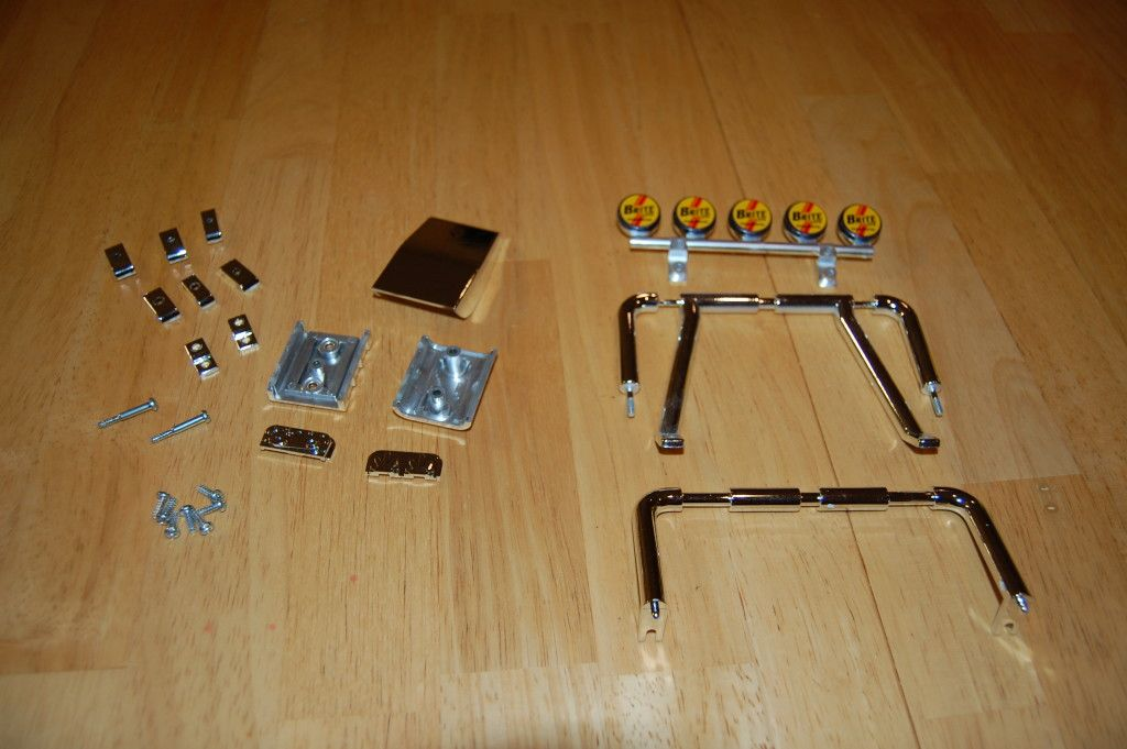 Parts needed for step 36