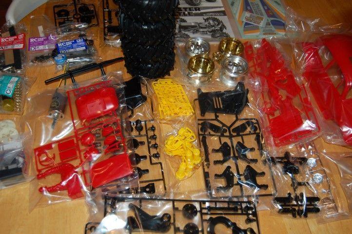 Tamiya Monster Beetle parts