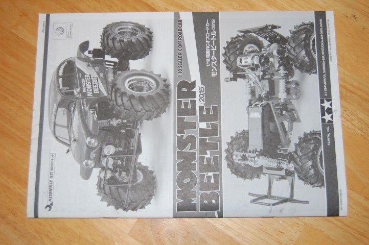 Tamiya Monster Beetle manual