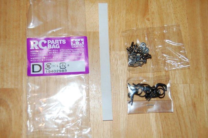 Tamiya Monster Beetle hardware bag D