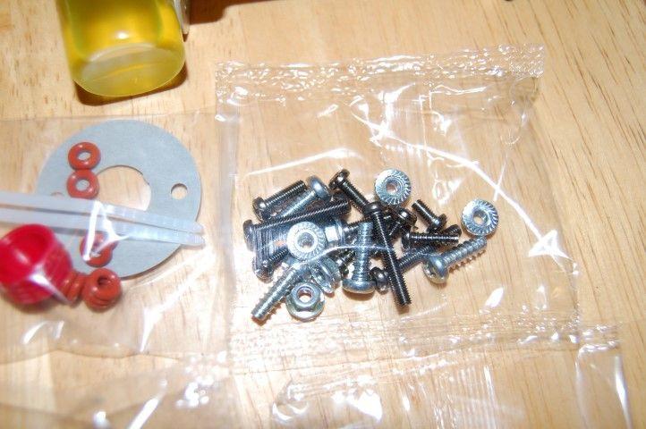 Tamiya Monster Beetle hardware bag C