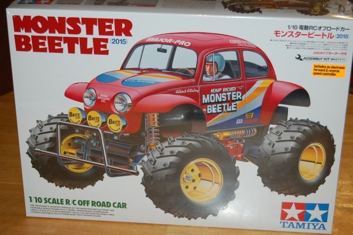 Tamiya Monster Beetle rerelease box